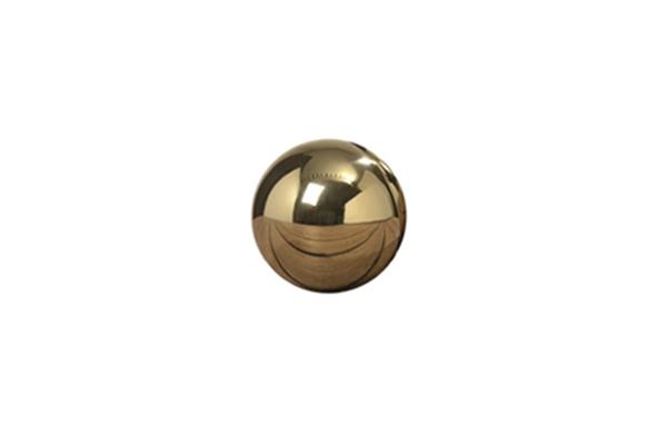 KULA DEKORACYJNA złota- średnia 1