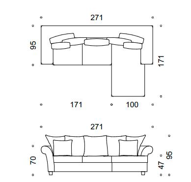 modena sofa narożna 1